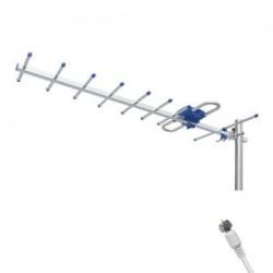 Antena Aérea De HDTV 8 Elementos