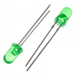 Led verde 5 mm