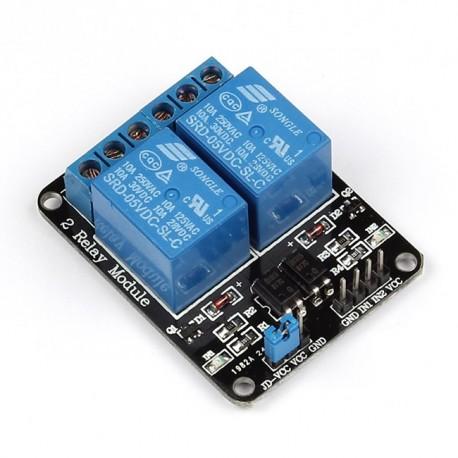 Módulo 2 relevadores Arduino