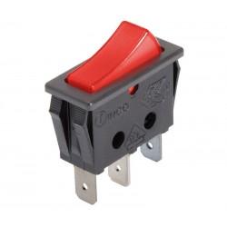 Switch balancin rectangular con piloto 120V