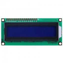Pnatalla LCD 2x16 fondo azul