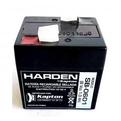 Batería recargable 6V 1Ah